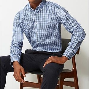 Marks & Spencer Cotton Tailored Oxford Shirt NWOT